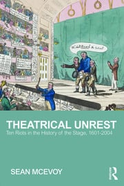 Theatrical Unrest - 1st Edition book cover