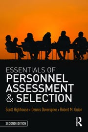 Essentials of Personnel Assessment and Selection - 2nd Edition book cover