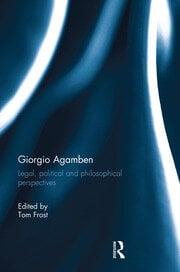 Giorgio Agamben - 1st Edition book cover