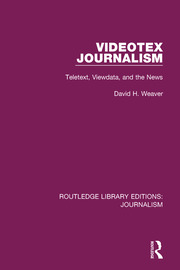 Videotex Journalism - 1st Edition book cover