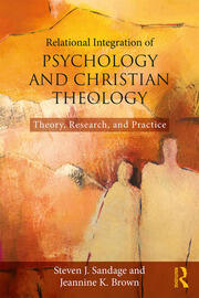 Relational Integration of Psychology and Christian Theology - 1st Edition book cover
