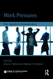 Work Pressures - 1st Edition book cover