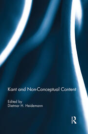 Kant and Non-Conceptual Content - 1st Edition book cover
