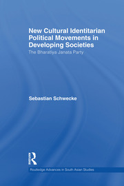 New Cultural Identitarian Political Movements in Developing Societies - 1st Edition book cover