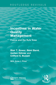 Incentives in Water Quality Management - 1st Edition book cover