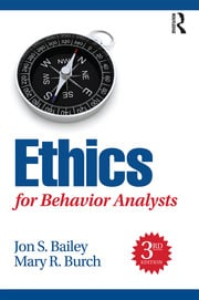 Ethics for Behavior Analysts - 3rd Edition book cover