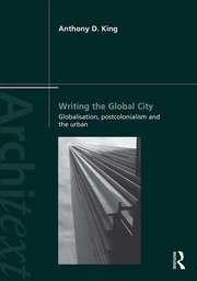 Writing the Global City - 1st Edition book cover