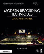 Modern Recording Techniques - 9th Edition book cover