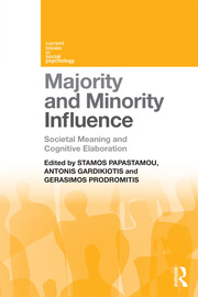 Majority and Minority Influence - 1st Edition book cover