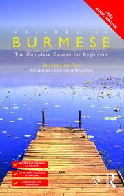Colloquial Burmese - 1st Edition book cover