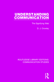 Understanding Communication - 1st Edition book cover