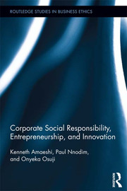 Corporate Social Responsibility, Entrepreneurship, and Innovation - 1st Edition book cover