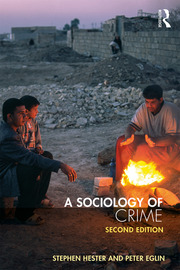 A Sociology of Crime - 2nd Edition book cover