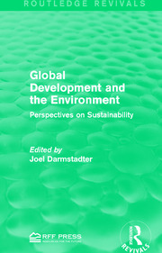 Global Development and the Environment - 1st Edition book cover