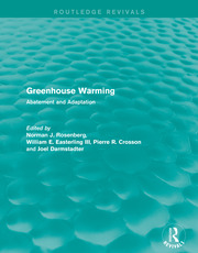 Greenhouse Warming - 1st Edition book cover