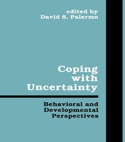 Coping With Uncertainty - 1st Edition book cover