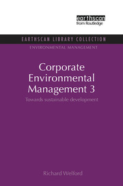 Corporate Environmental Management 3 - 1st Edition book cover