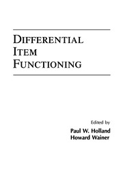 Differential Item Functioning - 1st Edition book cover