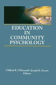 Education in Community Psychology - 1st Edition book cover