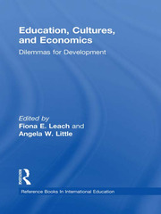 Education, Cultures, and Economics - 1st Edition book cover