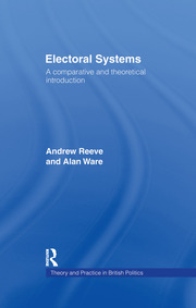 Electoral Systems - 1st Edition book cover