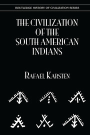 Civilization S Amer Indians - 1st Edition book cover