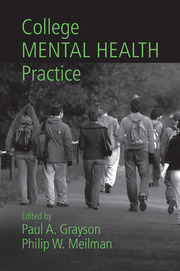 College Mental Health Practice - 1st Edition book cover