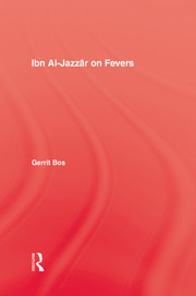 Ibn Al-Jazzar On Fevers - 1st Edition book cover
