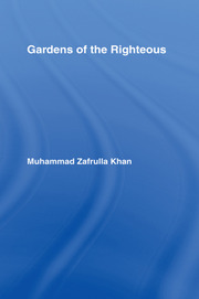 Gardens of the Righteous - 1st Edition book cover