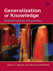 Generalization of Knowledge - 1st Edition book cover