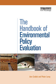 The Handbook of Environmental Policy Evaluation - 1st Edition book cover