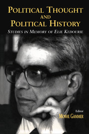 Political Thought and Political History - 1st Edition book cover