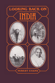 Looking Back on India - 1st Edition book cover