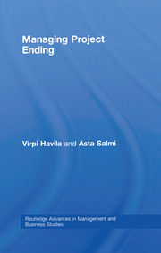 Managing Project Ending - 1st Edition book cover