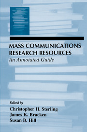 Mass Communications Research Resources - 1st Edition book cover