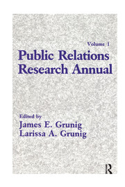 Public Relations Research Annual - 1st Edition book cover