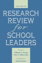 Research Review for School Leaders - 1st Edition book cover