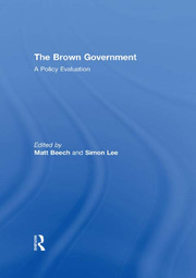 The Brown Government - 1st Edition book cover