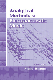 Analytical Methods of Electroacoustic Music - 1st Edition book cover