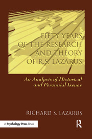 Fifty Years of the Research and theory of R.s. Lazarus - 1st Edition book cover