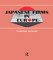 Japanese Firms in Europe - 1st Edition book cover