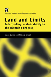 Land and Limits - 1st Edition book cover