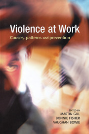 Violence at Work - 1st Edition book cover