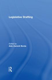 Legislative Drafting - 1st Edition book cover