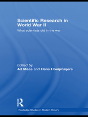 Scientific Research In World War II - 1st Edition book cover