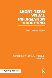 Short-term Visual Information Forgetting (PLE: Memory) - 1st Edition book cover