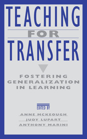 Teaching for Transfer - 1st Edition book cover