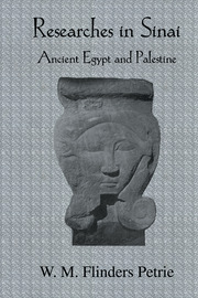 Researches In Sinai - 1st Edition book cover
