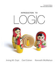 Introduction to Logic - 14th Edition book cover