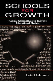 Schools for Growth - 1st Edition book cover